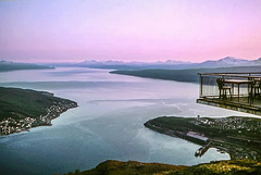 Norway 1970 - Narvik, June 15th, Midnight (270°)