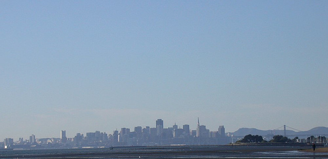 SF from Alameda