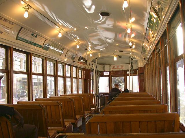 SF Castro: Trolley interior