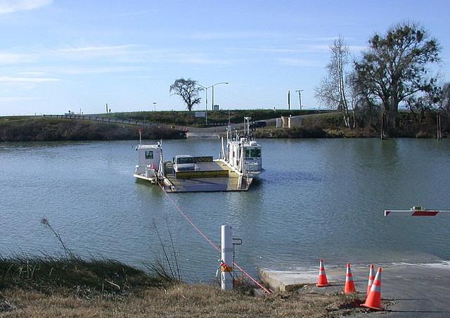 J Mac ferry Sacramento Delta