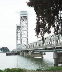 Rio Vista Bridge Sacramento River