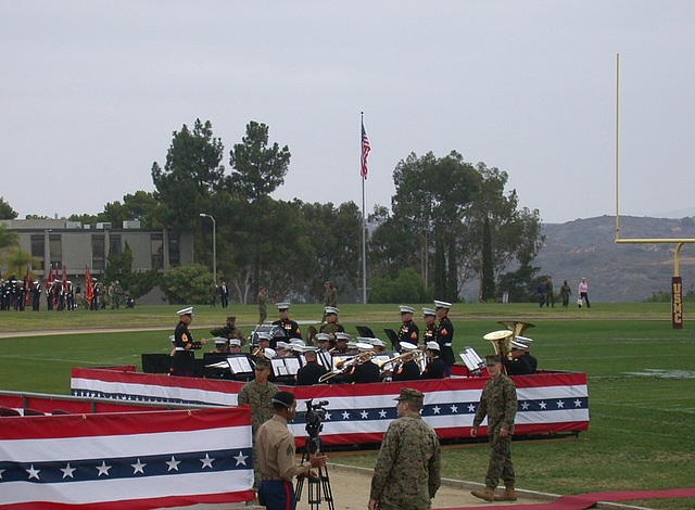 Camp Pendleton, birthday of Marine Corps