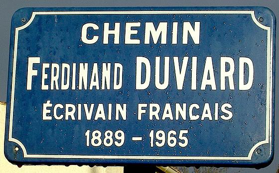 Vojo Ferdinand Duviard en La Roche-sur-Yon