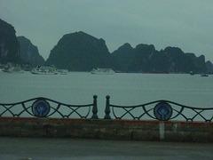 Halong Bay sous la pluie