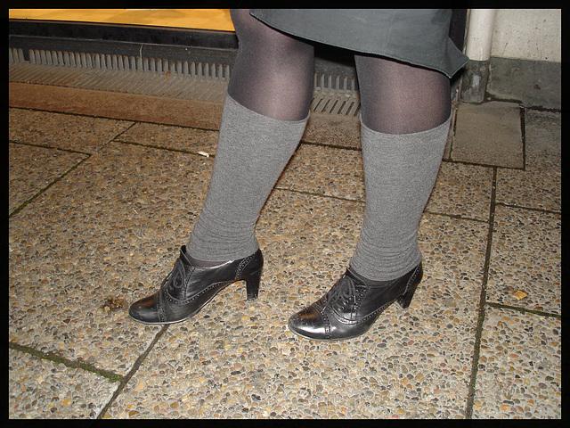 Jeune danoise bien en chair en talons hauts / Young chubby Danish Lady on heels