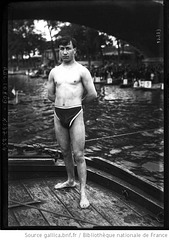 french swimmer 1 - 1920
