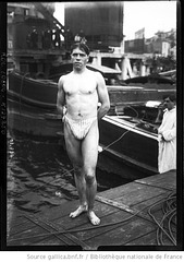 french swimmer 2 - 1920