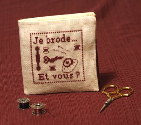 Je Brode Needlebook (front) 3/2/07