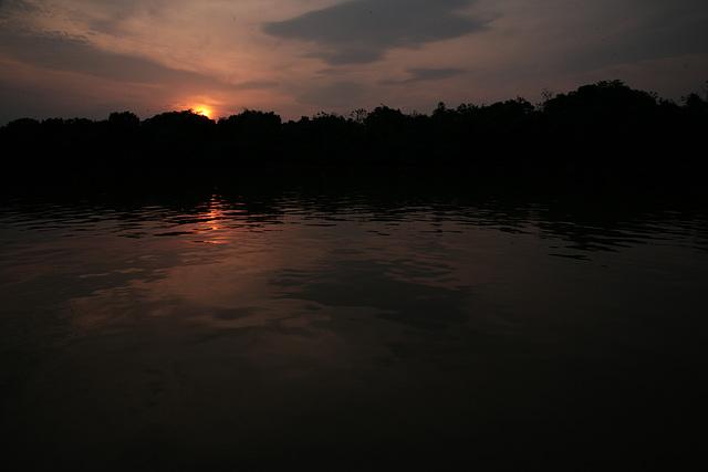 Cuiaba River sunrise