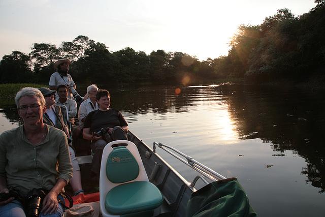 Pantanal boat ride