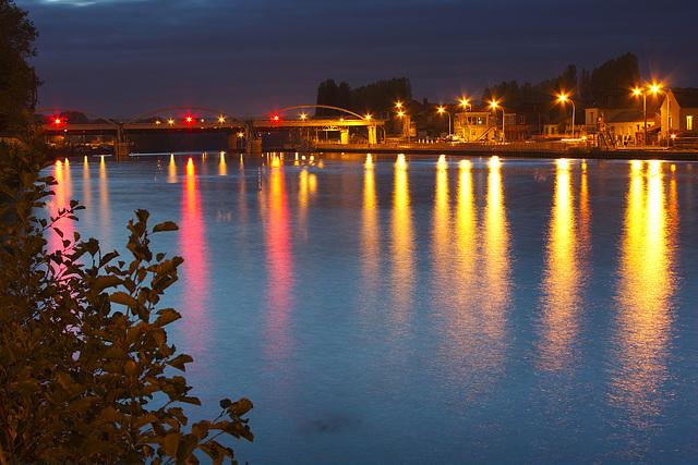 Compiègne, Venette locks (barrage de Venette)