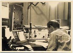 Grenzwellen-Arbeitsplatz 1958,  DAC 2153 und 2802 kHz