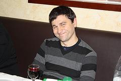 Slavik Ivanov dum la festo okaze la 20-jariĝon de eldonejo Impeto