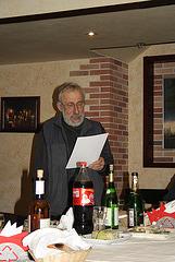 Mikaelo dum la festo okaze de la 20-jariĝo de eldonejo Impeto