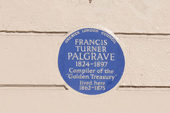 Palgrave blue plaque