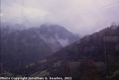 View from the Glacier Express, Picture 14, Unknown location, Goms District, Switzerland, 2011
