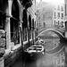 Lubitel in Venice (BW-12)