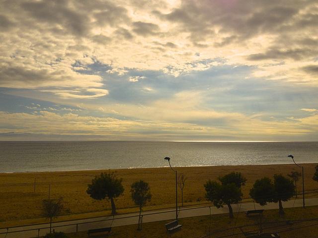 mar i cel des del meu balcó