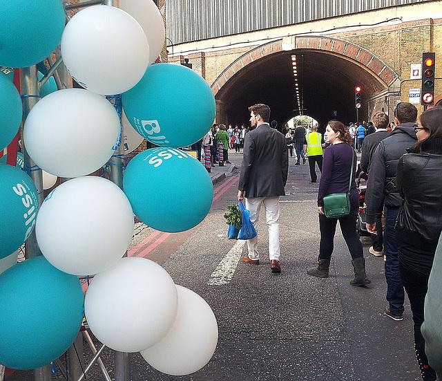 Balloons in Bermondsey