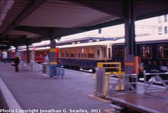 Old Train in Chur Station, Chur, Plessur District, Switzerland, 2011