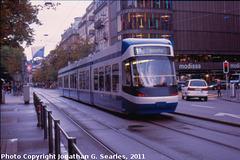 Zurich Tram, Picture 1, Zurich, Switzerland, 2011