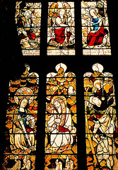 ludlow, shropshire, 1440 glass