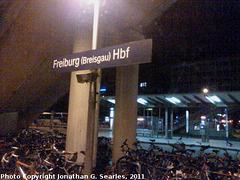 Freiburg (Breisgau) Hauptbahnhof, Freiburg im Breisgau, Baden-Wurttemberg, Germany, 2011