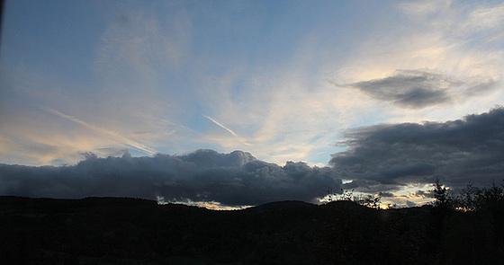 Ciel du 10 octobre au soir
