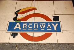 Archway Tavern tiles