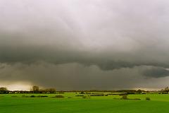 The rain in Hertfordshire...