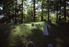 The cemetery near Tanglewood