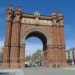Spain - Barcelona, Arc de Triomf