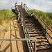 Treppe über die Dünen