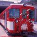 BVZ Train in Zermatt Station, Picture 1, Cropped Version, Zermatt, Visp District, Switzerland, 2011