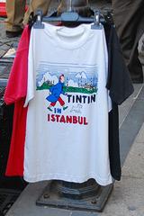 Tintin in Istanbul