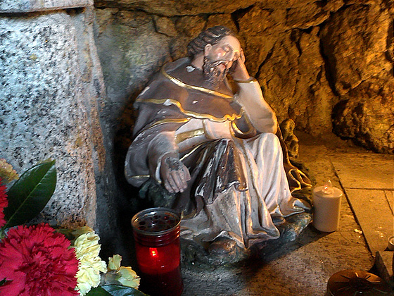 Cave of S. Elias, the Sleep' Saint