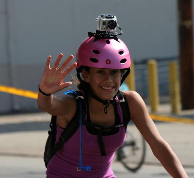 GoPro on pink (7046)