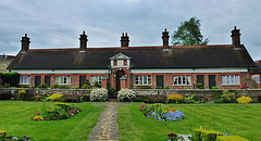ravenscroft almshouses, high barnet, herts.