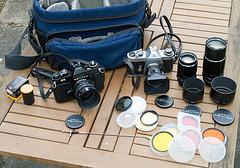 Pentax ES, ESII and SMC Takumar lenses