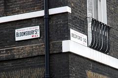 Bloomsbury St/Bedford Sq