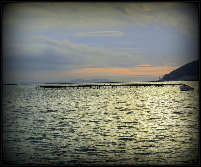 une mer de nacre