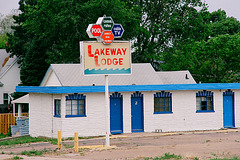 Ogallala (5) Lakeway Lodge, a disused motel
