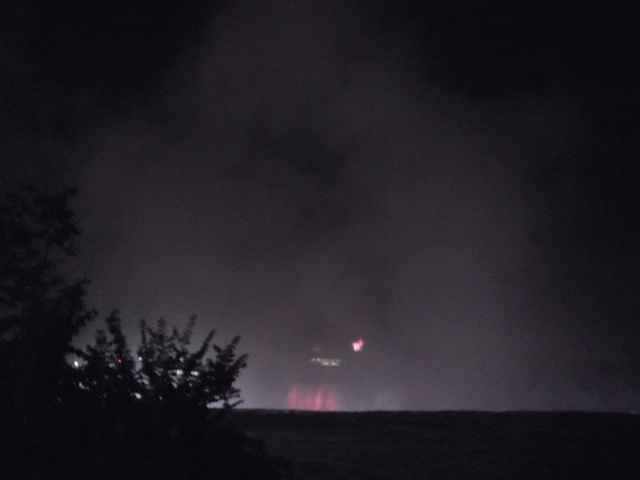 Bruine en chute libre /  Drizzle freefall - 7 juillet 2012.