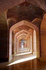 Inside Shah Jahan Mosque, Thatta