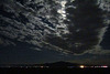 Clouds and Full Moon Over Burning Man (1171)