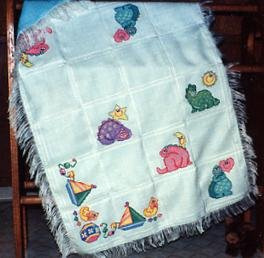 Baby Cover Ups Afghan - 1994