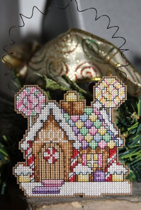 Gingerbread House Ornament 1/18/11