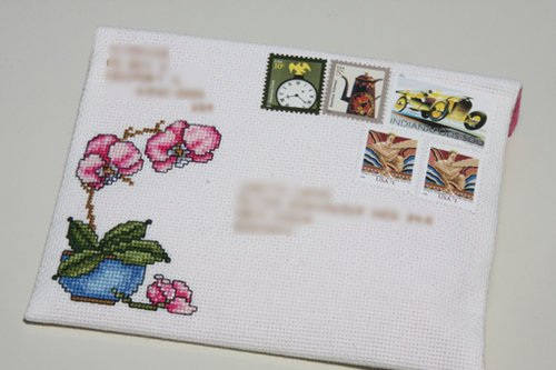 Asian Mailart #1 (Front) 5/21/11