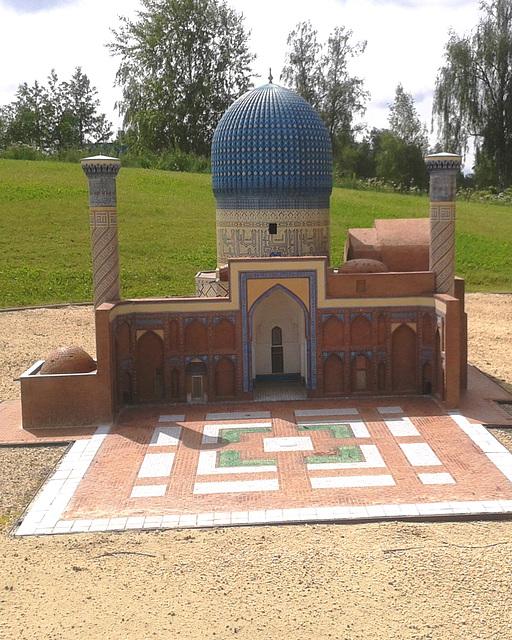 Roka templo (Moskeo de Omaro) en Jerusalemo