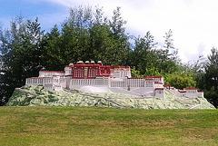 Palaco Potala en Lhasa (Tibeto)